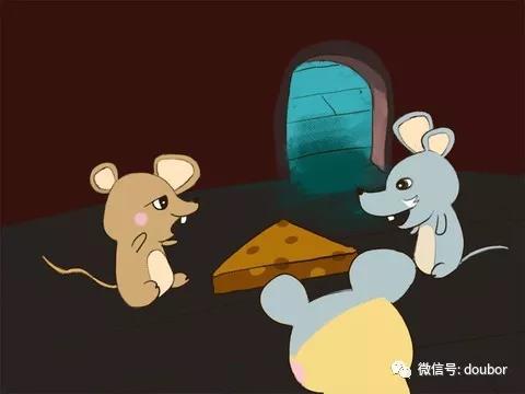 老鼠吃奶酪